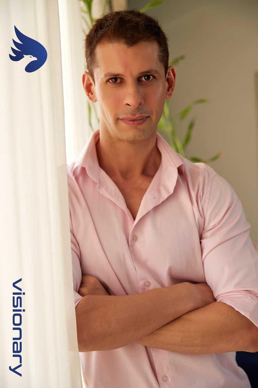 START Wellness App - Founder Shayan Italia Profile Image