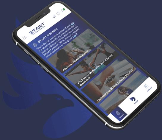 START Wellness App - Science Page