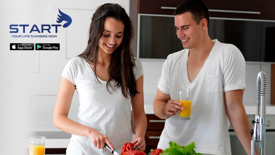 START Wellness Fitness App Intermittent Fasting Couple
