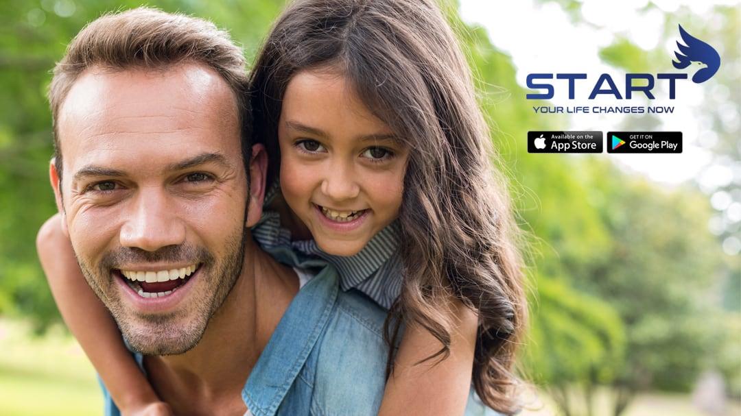 START Wellness Fitness App Intermittent Fasting Father Daughter
