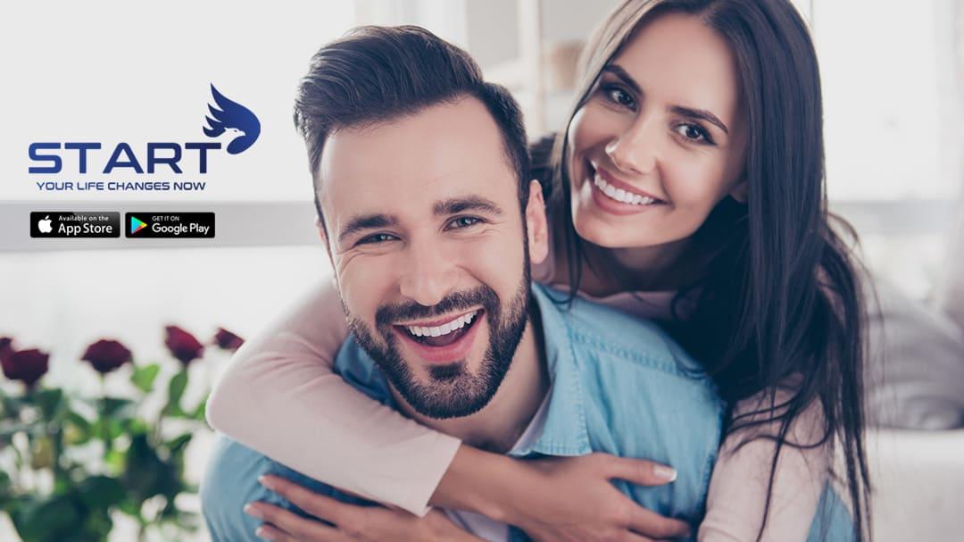 START Wellness Fitness App Intermittent Fasting Happy Couple