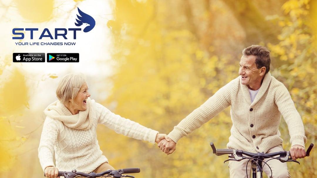 START Wellness Fitness App Older Couple 2