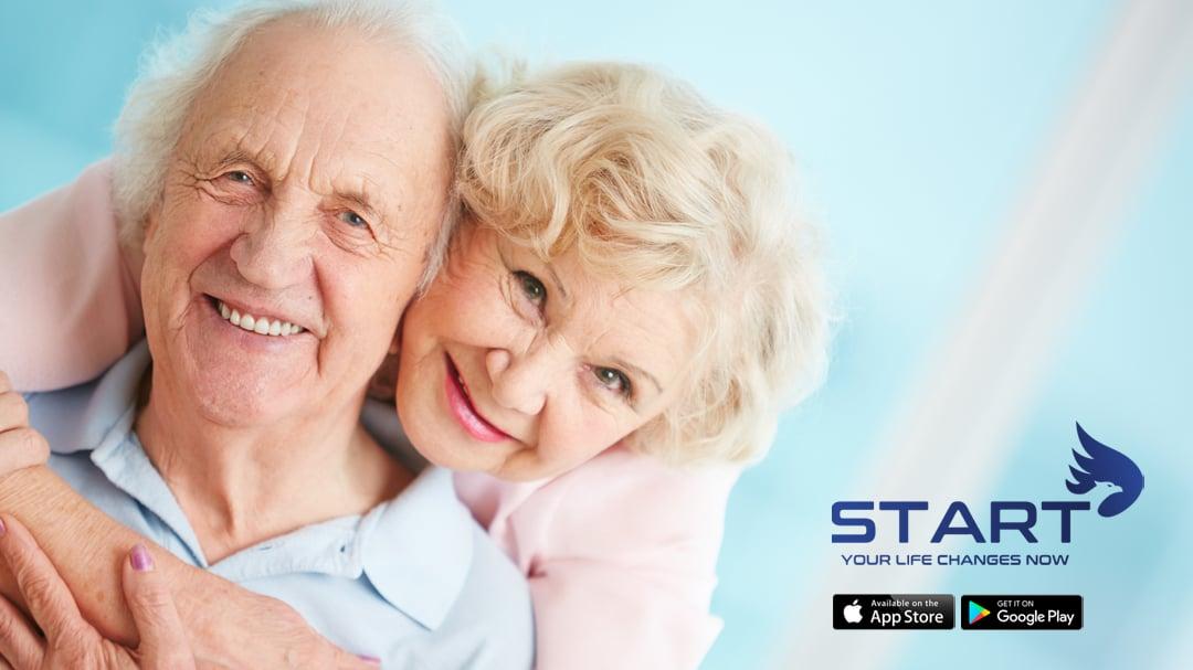 START Wellness Fitness App Intermittent Fasting Older Couple