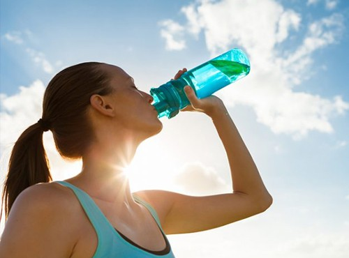 Water hydration and water control benefits