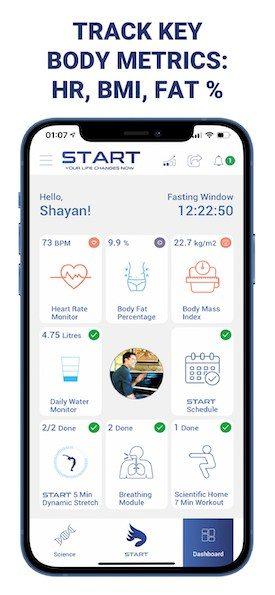 START Wellness App Screenshot 2